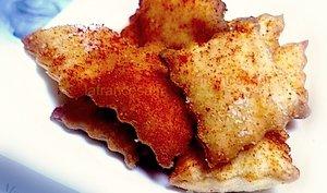 Snack au parmesan et au pimenton