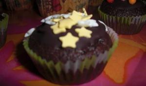 Cupcakes chocolat noisette