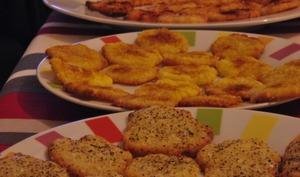 Tuiles au parmesan épicées