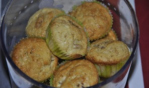 Mini muffins moelleux aux abricots secs