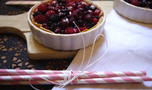 Tartelettes fruits rouges