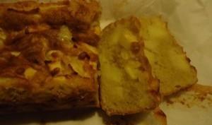 Gâteau aux pommes et à la poudre d'amandes