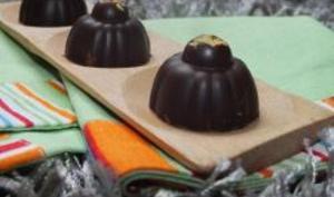 Chocolat au coeur fondant au caramel