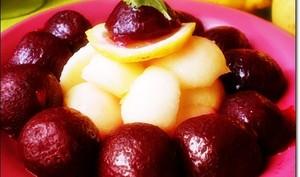 Salade de Betteraves aux Pommes Facile & Rapide