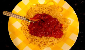 Sauce bolognaise spéciale paresseux