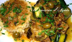 tajine d'agneau aux citrons confits et aux olives vertes