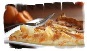 Tarte aux abricots & mascarpone