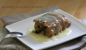 Pudding Pruneaux-Caramel