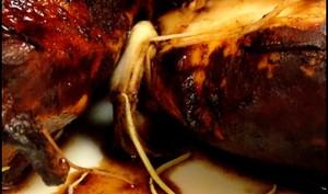 Blancs de poulet au vinaigre balsamique et au romarin