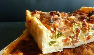 Quiche aux Poivrons et Chorizo