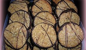 BISCUITS DOUBLE CHOCOLAT OU HAVREFLARN
