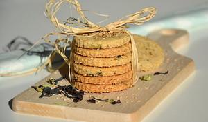 Biscuits santé au sésame et aux algues