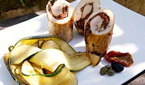 Escalopes de poulet facies à la provençale