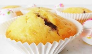 Muffins citron et confiture