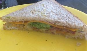 Club sandwich aux gésiers