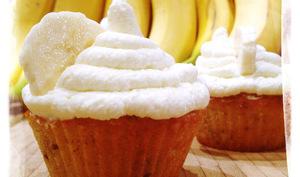 Cupcakes Banana split