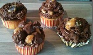 Cupcakes shortbread millionnaire ou au twix