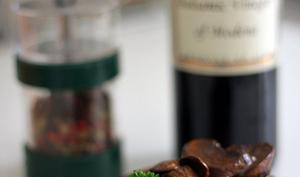 Champignons marinés au vinaigre balsamique
