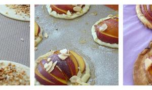 Tartelettes fines aux nectarines