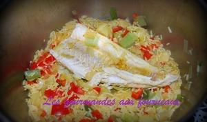 Filet de julienne au curry
