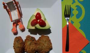 Galettes au thon, aux olives et au gingembre