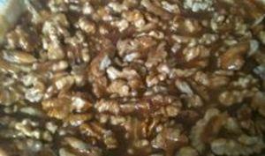 Tarte aux noix caramélisée