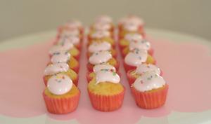 Mini Cupcakes à la guimauve Mérenguitos