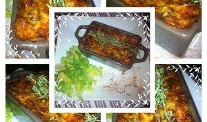 Lasagnes aux courgettes et champignons