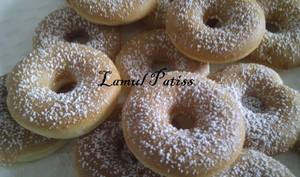Donuts à l'huile de noisette