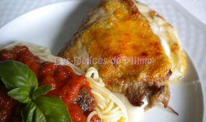 Escalopes de veau gratinées à l'Italienne