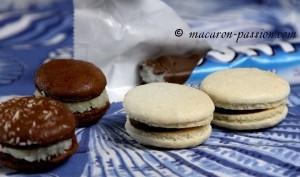 Macaron façon Bounty version n°1