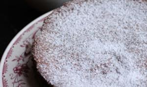 Gâteau chocolat-citron vert et crème 'Margarita'