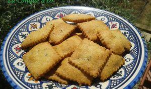 Petits biscuits apéritif au parmesan et origan
