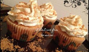 Cupcakes Galak Chocolat Blanc Spéculoos