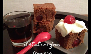 Brownie Black Forest