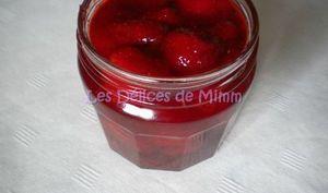 Confiture de fraises vanillée, allégée en sucre