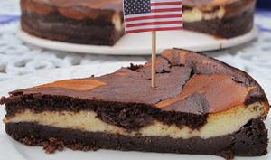 cheesecake au chocolat de New-York
