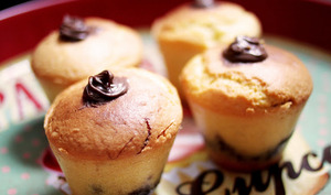 Muffins au Nutella®