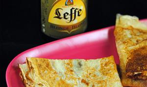 Pâte à crêpes à la bière blonde