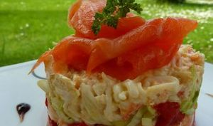 Timbale de Crabe Royal