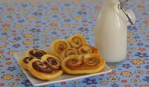 Petits palmiers au Nutella et Spéculoos