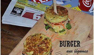 Burger aux légumes printaniers