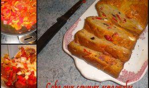Cake aux saveurs espagnoles