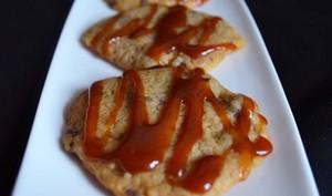 Cookies pépites de chocolat et caramel beurre salé