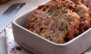 Cake salé : aux olives et jambon sans gluten