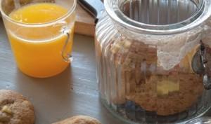 Cookies aux pommes caramélisés