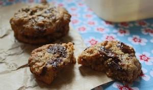 Cookies au beurre de cacahuète et au chocolat au lait