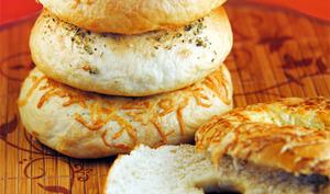 Pain pour bagels