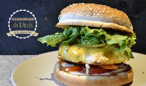Hamburger de dinde à la plancha