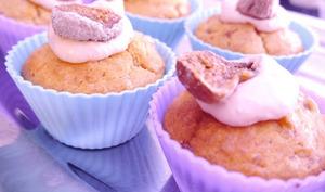 Cupcakes foie gras et figues séchées